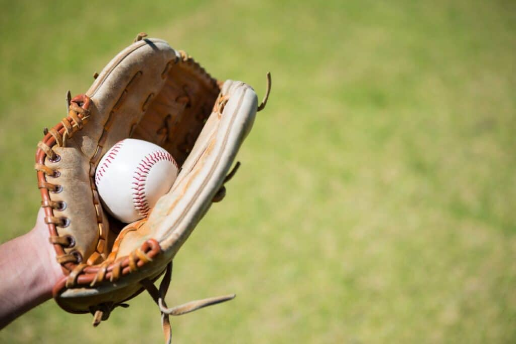 Ball in Baseball Glove
