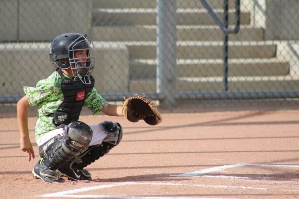 Youth Catcher Baseball