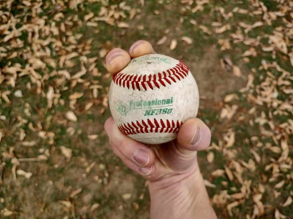 Curveball Grip Underneath View