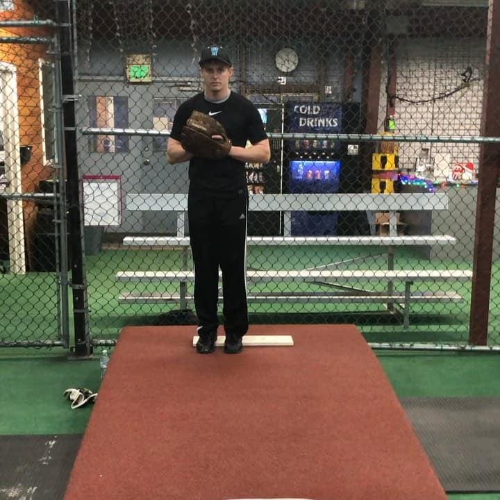 Baseball Bullpen Session - 2