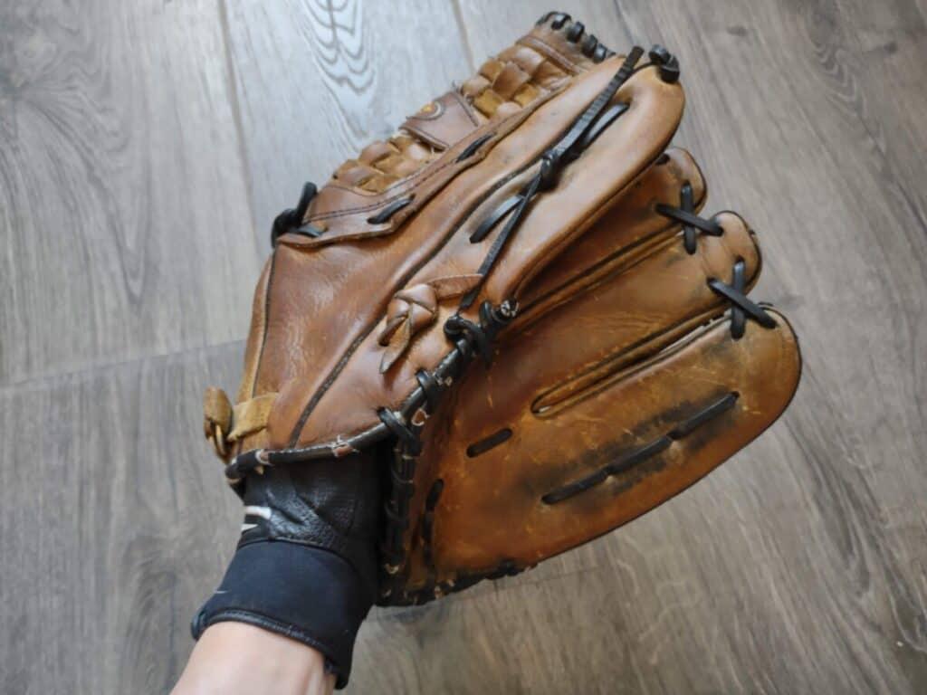 Batting Glove Under Fielding Glove