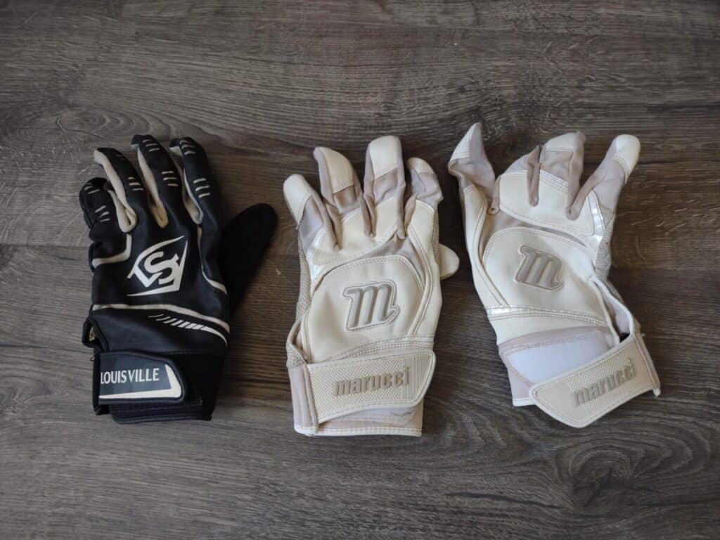 Two Sets of Batting Gloves