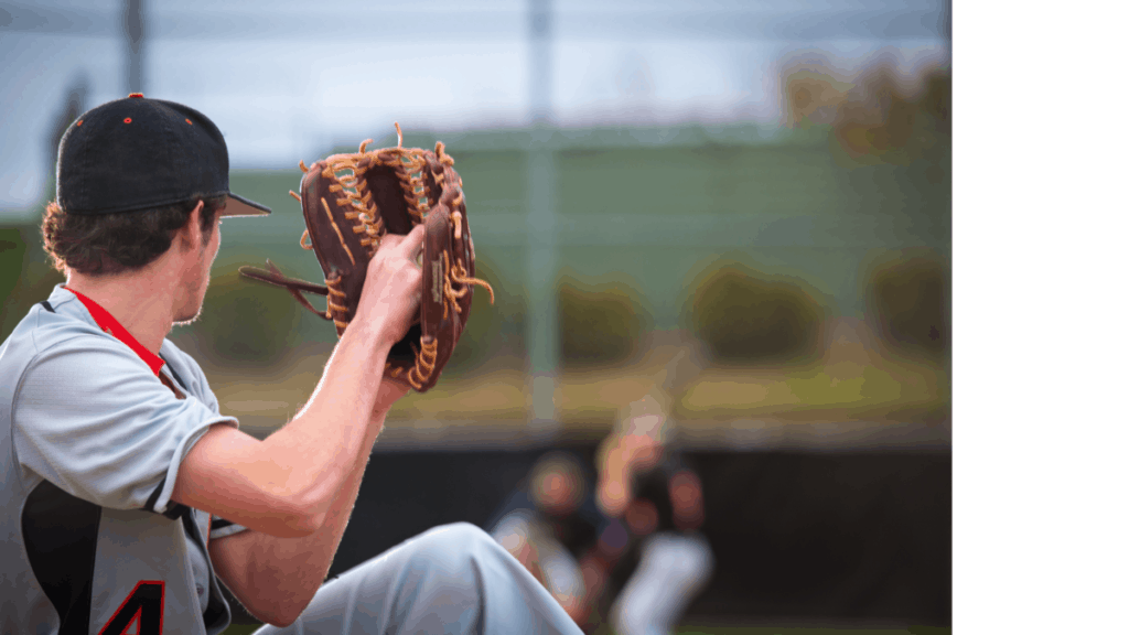 Baseball Pitcher Throwing