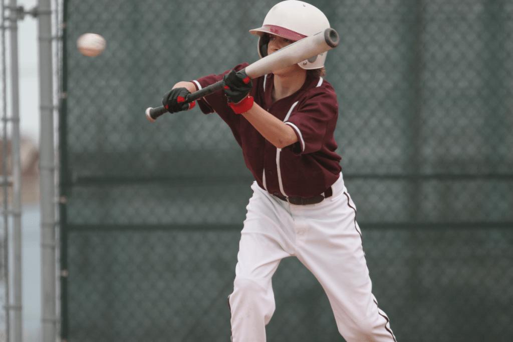 Player Bunting Baseball