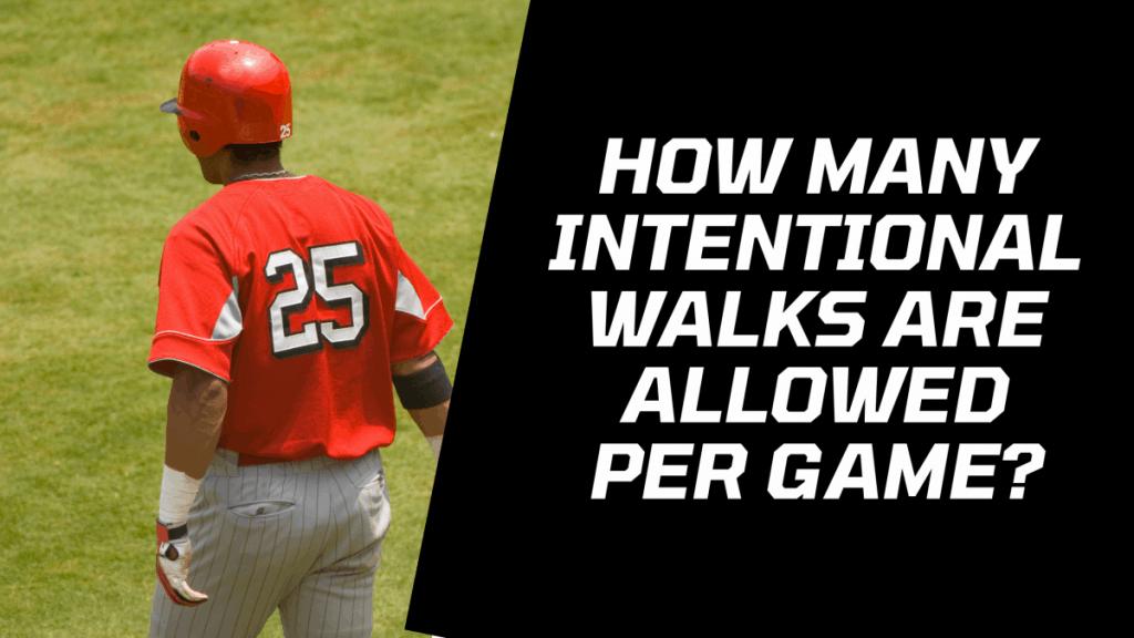 Intentional Walks Per Game