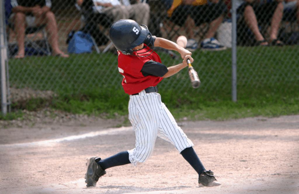 Batter Hitting Foul Ball