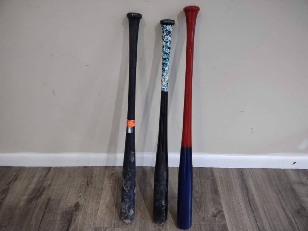 Close-up of Baseball Bats