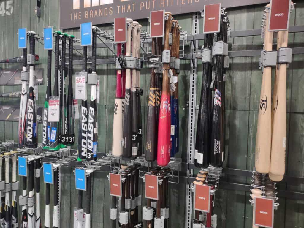 Brand New Wood and Aluminum Baseball Bats