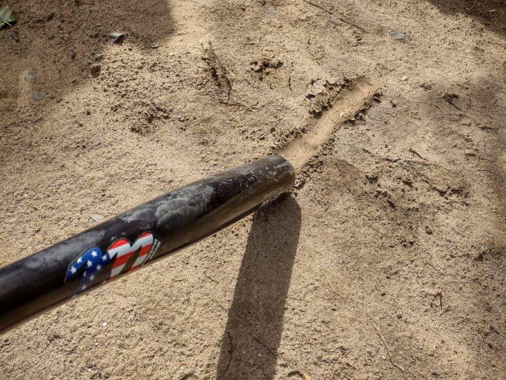 Baseball Draw Line With Bat